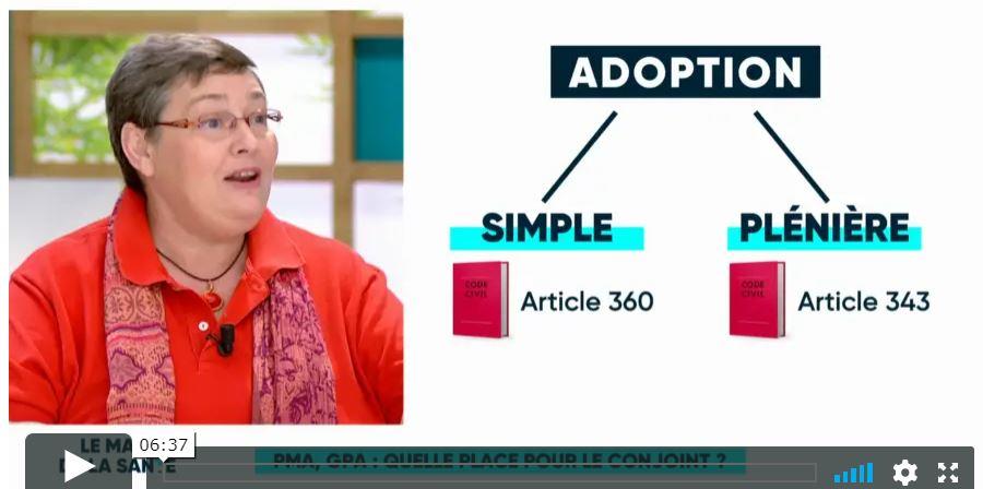 L'adoption de l'enfant du conjoint, PMA et GPA