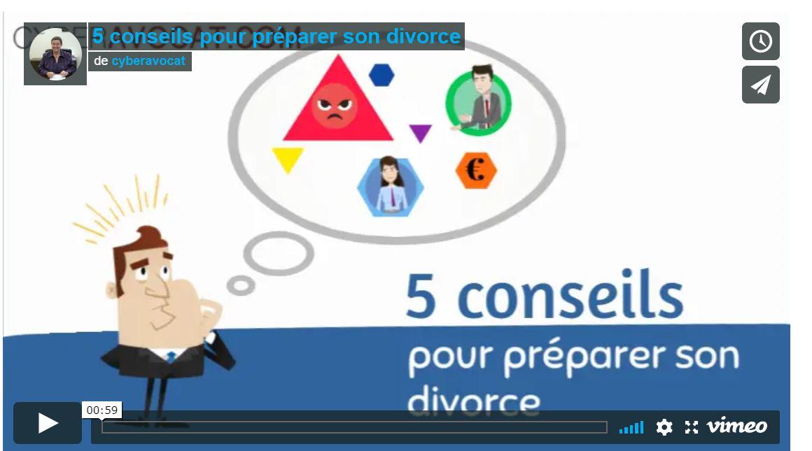 5 conseils pour bien préparer son divorce