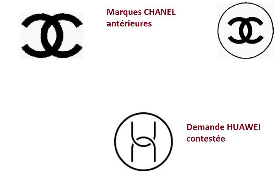 Pas de confusion entre les marques figuratives de CHANEL et HUAWEI (TUE, 21 avril 2021)