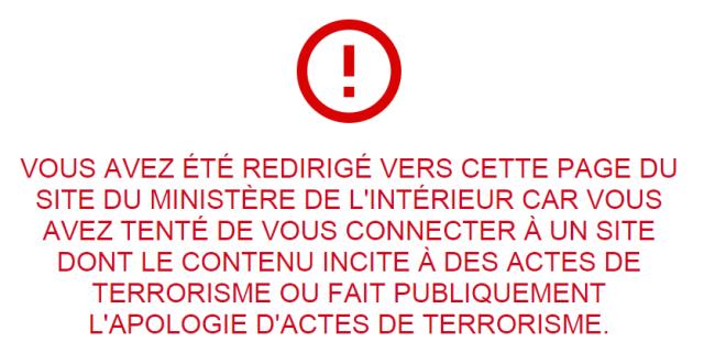 Première condamnation pour consultation répétée de sites faisant l'apologie du terrorisme