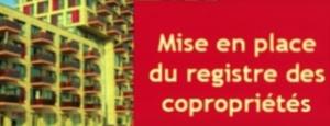 Mise en place du registre national d'immatriculation des syndicats de copropriétaires avec le décret du 26 août 2016
