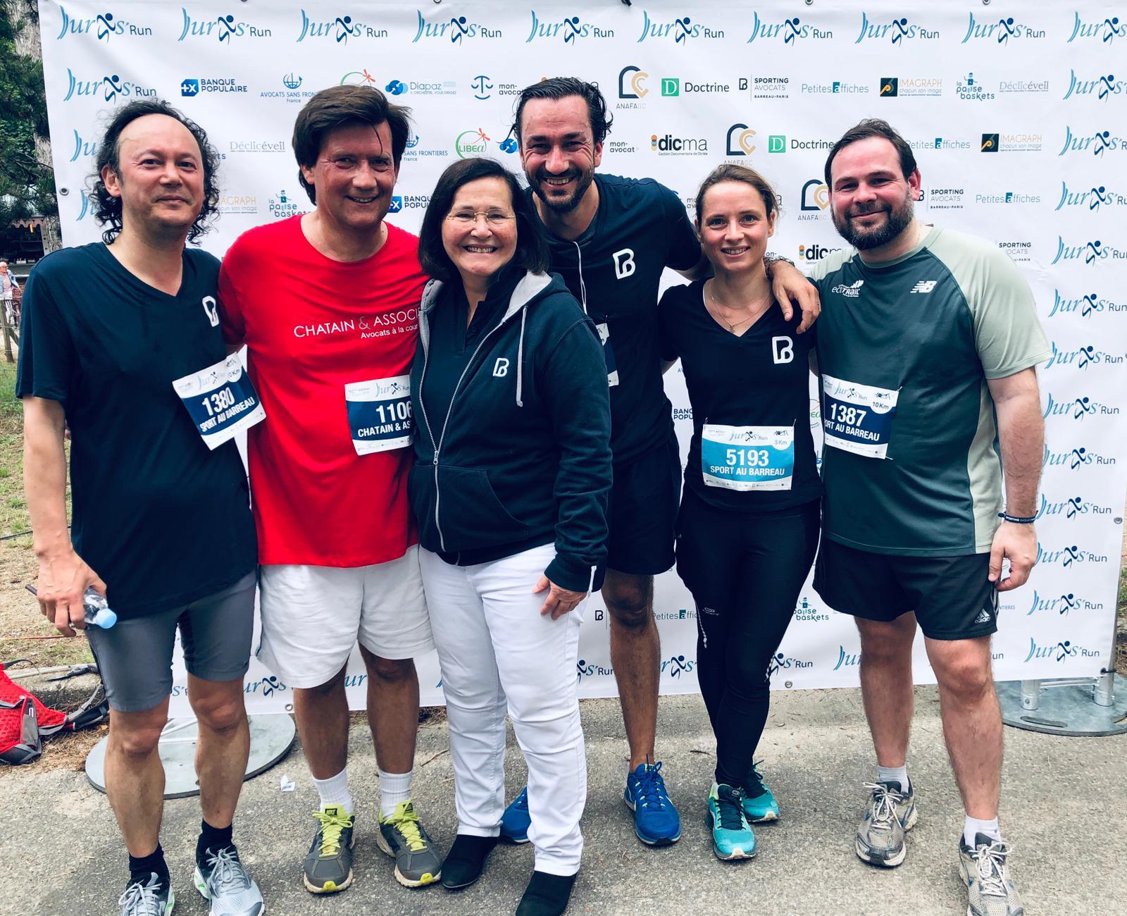 CHHUM AVOCATS (Paris, Nantes, Lille) a participé à la Juris Run 2019 le 16 juin 2019