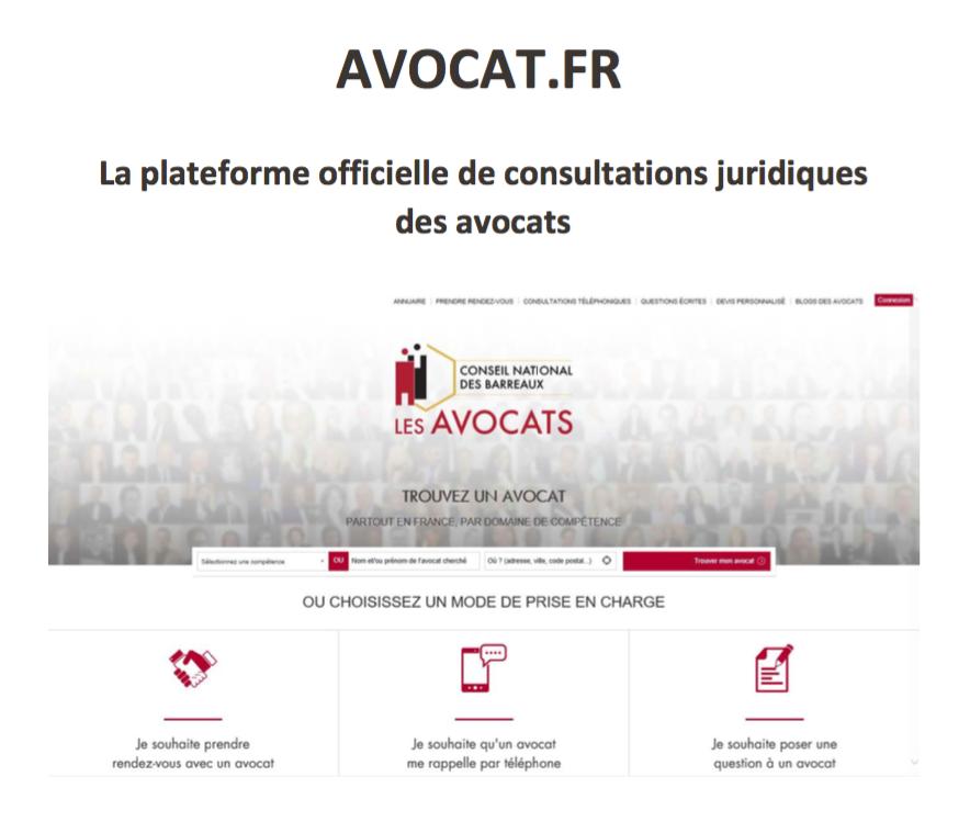 AVOCAT.FR La plateforme officielle de consultations juridiques des avocats