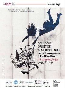 Colloque Droit(s) et street art –le point de vue du photographe : Maître Sara Byström, avocat