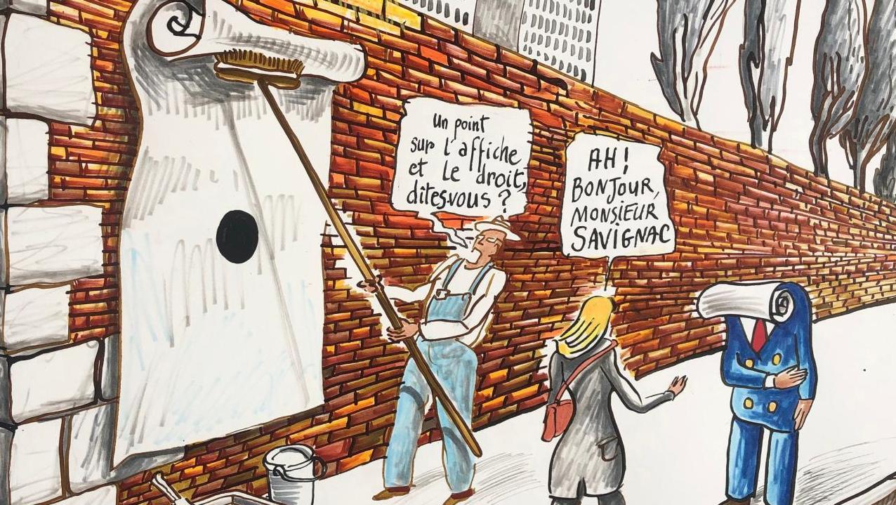 L'affiche et le droit par Sara Byström Avocat – publication in La Gazette Drouot