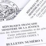 En savoir + sur le casier judiciaire