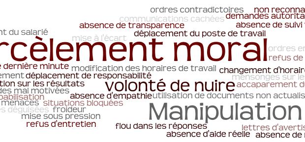 HARCELEMENT MORAL ET OBLIGATION DE SECURITE DE L' EMPLOYEUR: LA PREVENTION