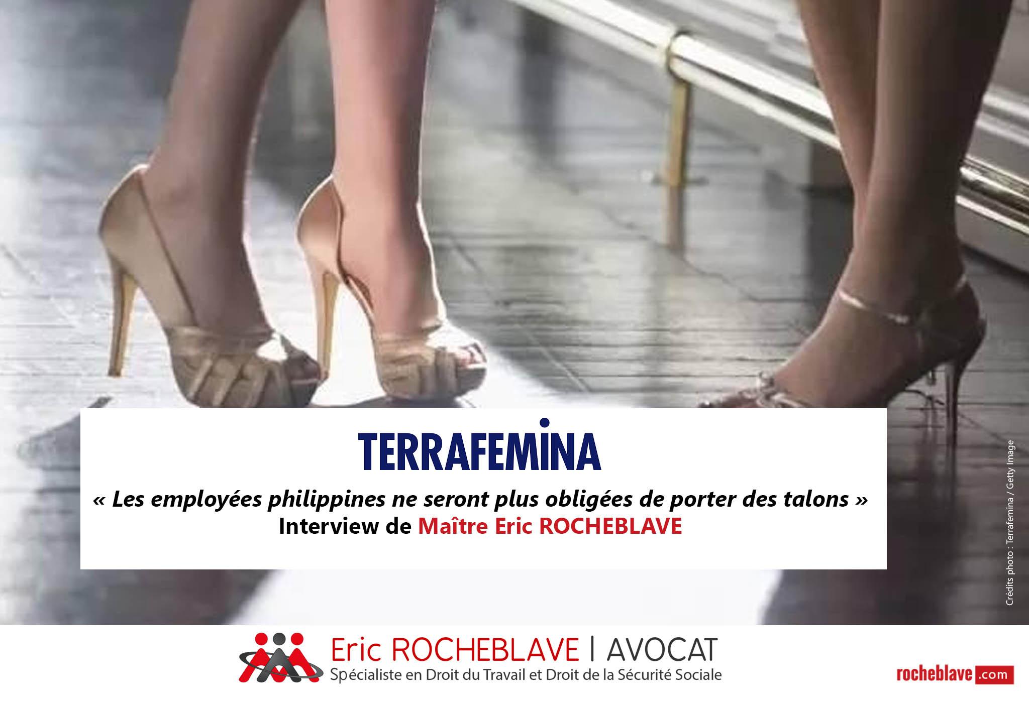 « Les employées philippines ne seront plus obligées de porter des talons » Interview de Maître Eric ROCHEBLAVE | TERRAFEMINA