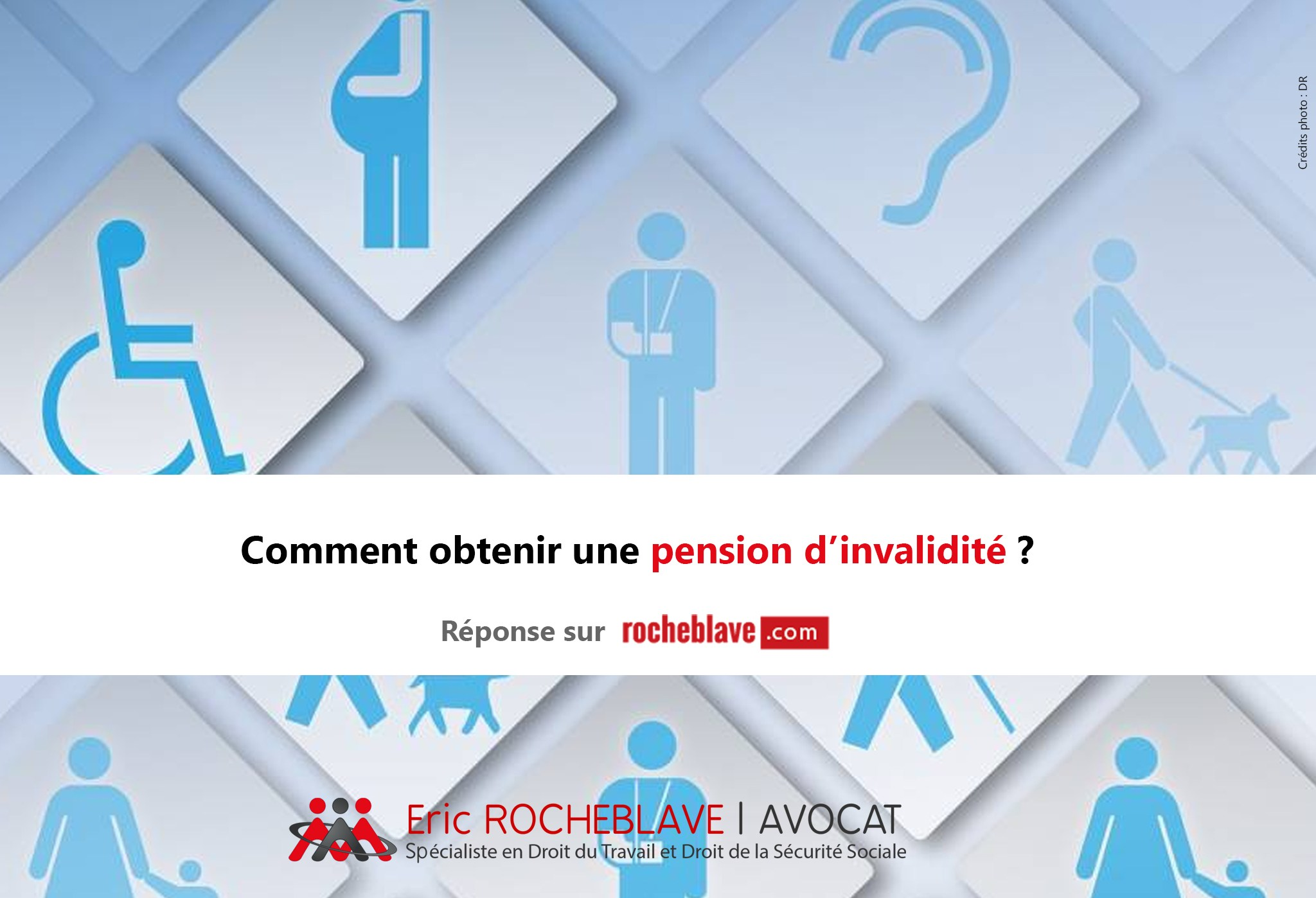 Comment obtenir une pension d'invalidité ?