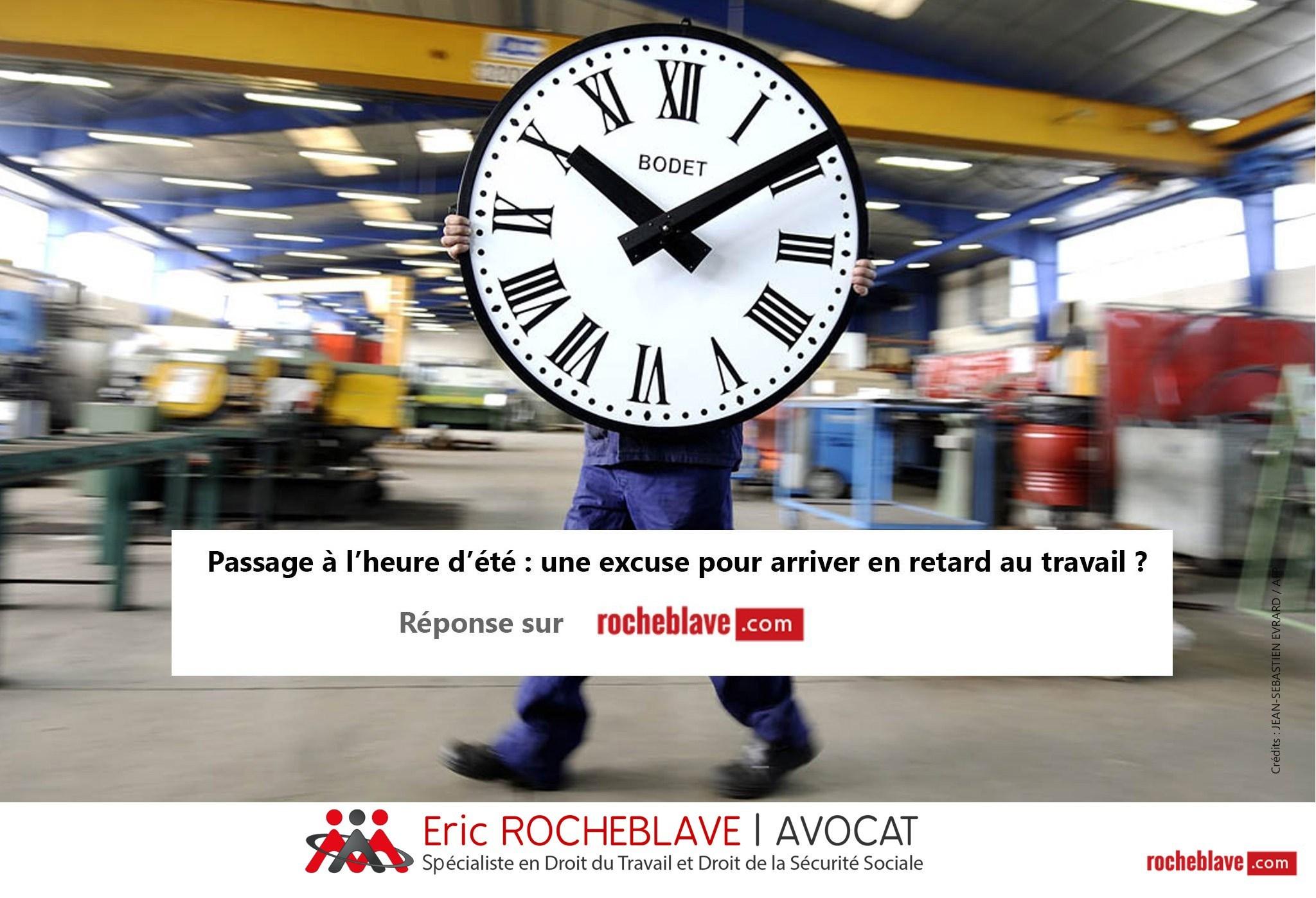 Passage à l'heure d'été : une excuse pour arriver en retard au travail ?