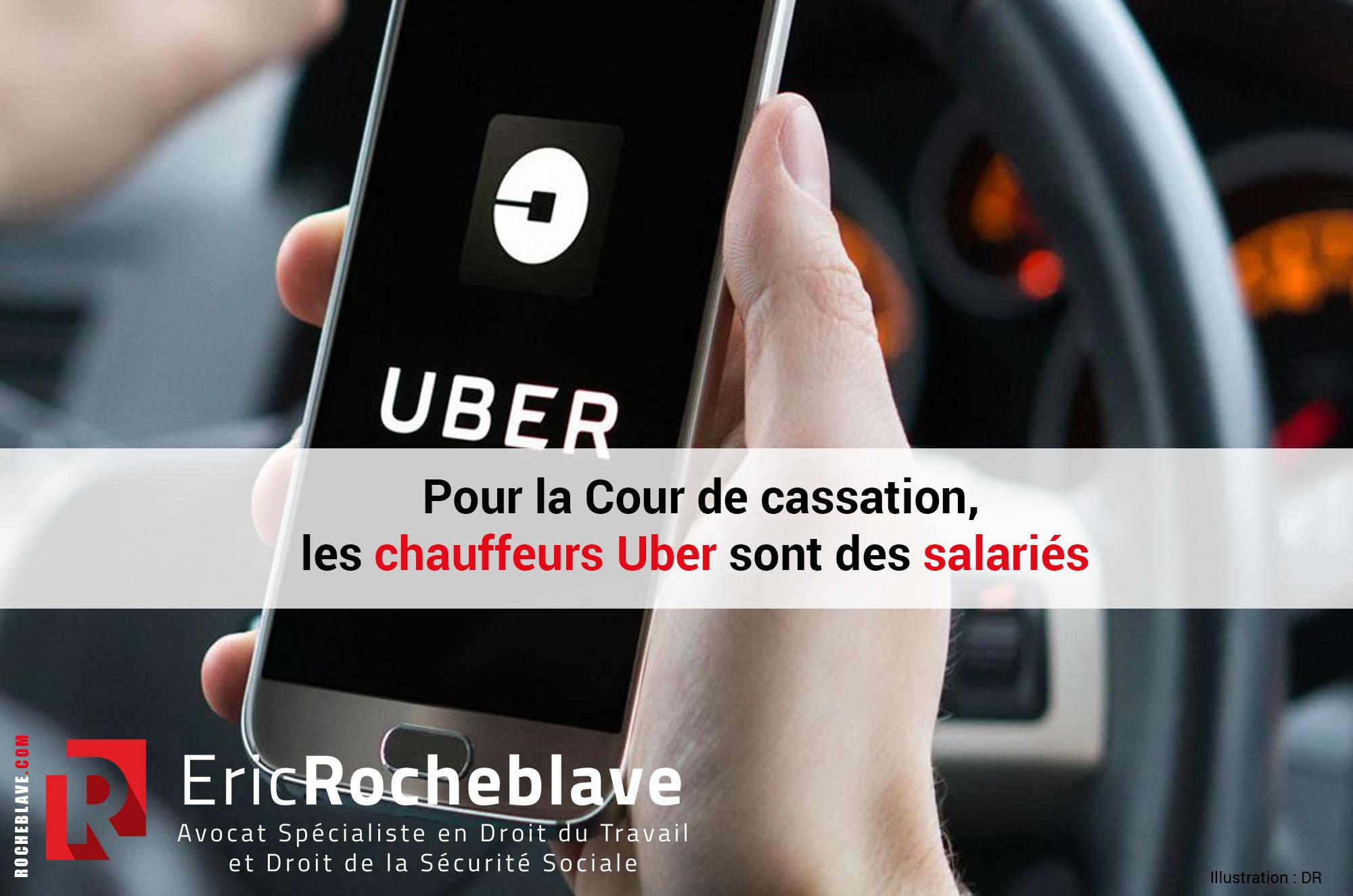 Pour la Cour de cassation, les chauffeurs Uber sont des salariés