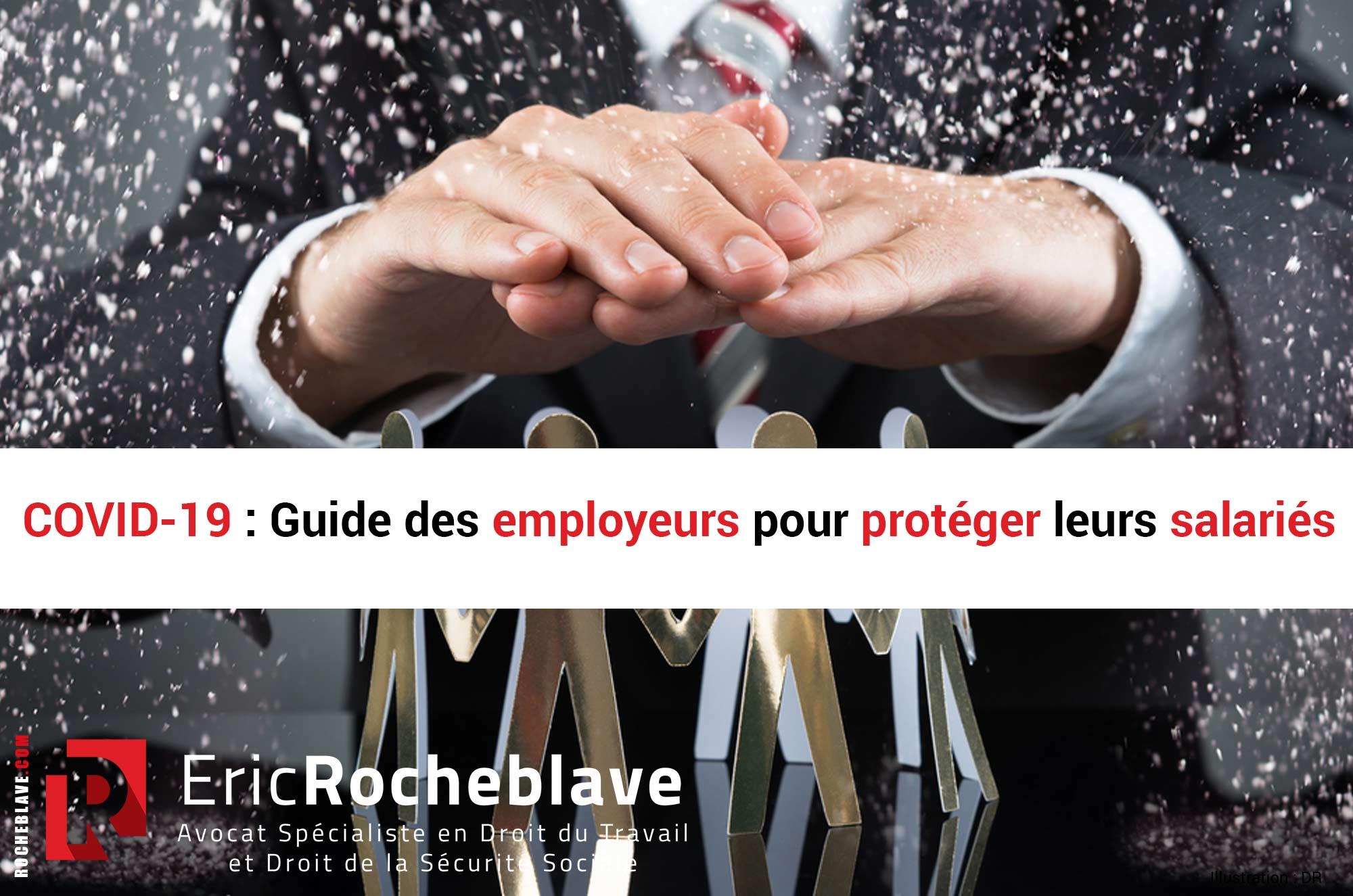 COVID-19 : Guide des employeurs pour protéger leurs salariés