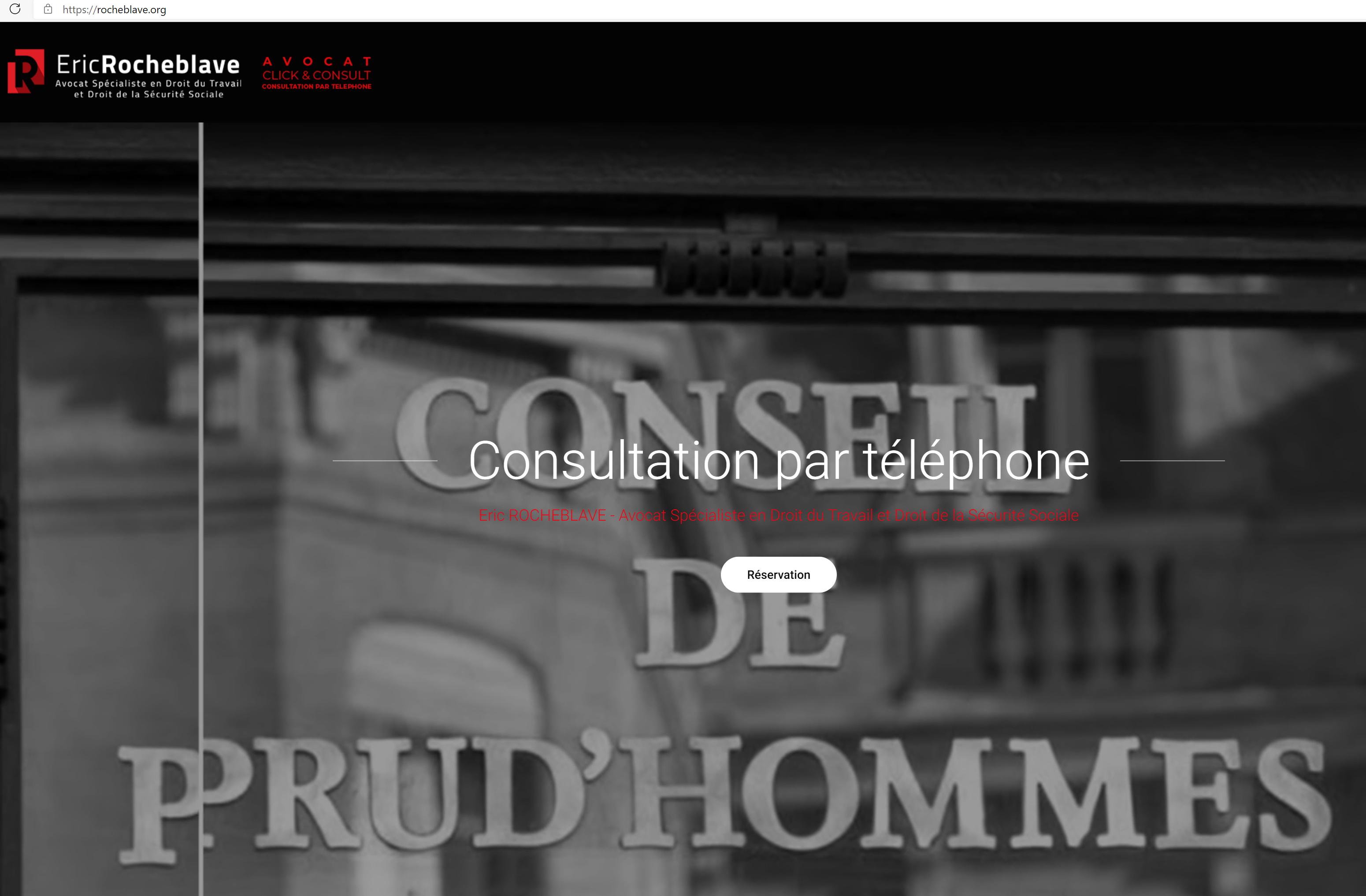 Avocat Click&Consult - Consultation par téléphone