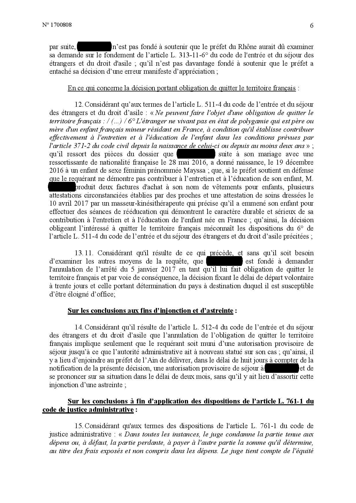 Obligation de quitter le territoire français : les interdictions légales
