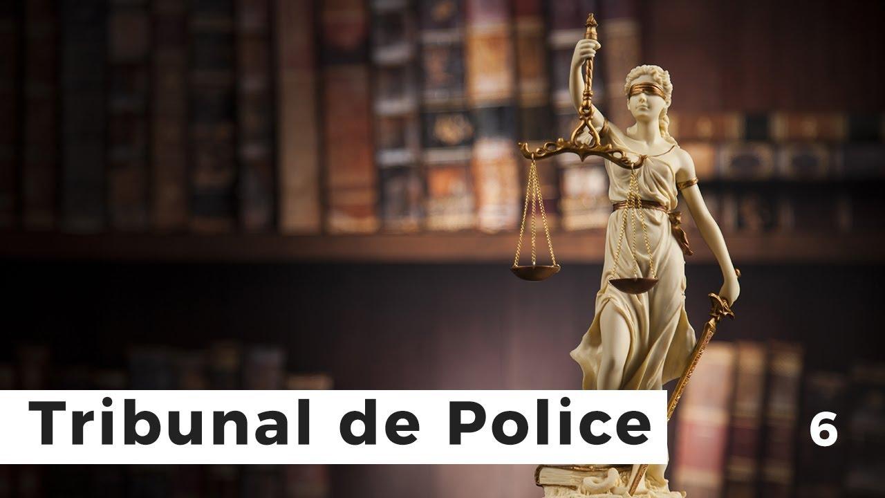 Le tribunal de police : juge des contraventions