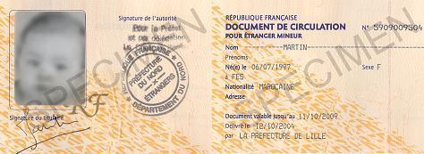 Le document de circulation pour étranger mineur : les règles et leur application