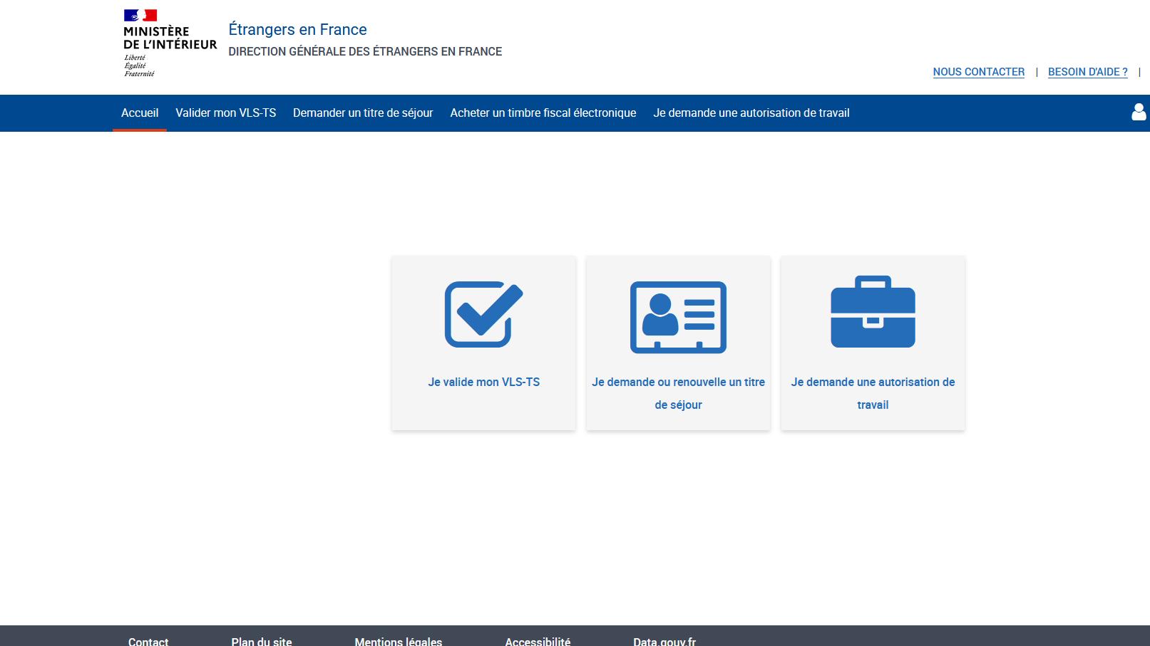Nouvelle procédure de demande d'autorisation de travail en ligne