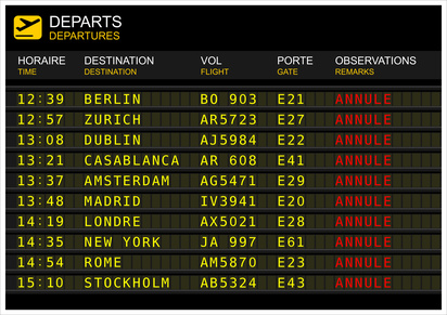 Vols retardés ou annulés : quels sont les droits des passagers ?