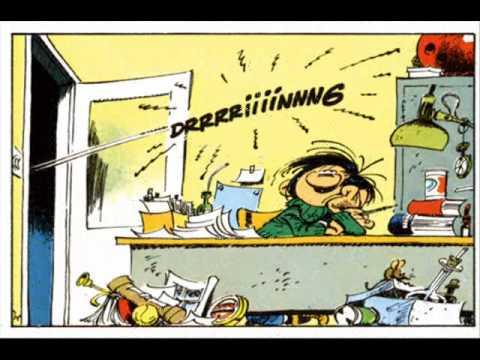 Le téléphone au travail : Gaston y a le téléphon qui son et y a jamais person...