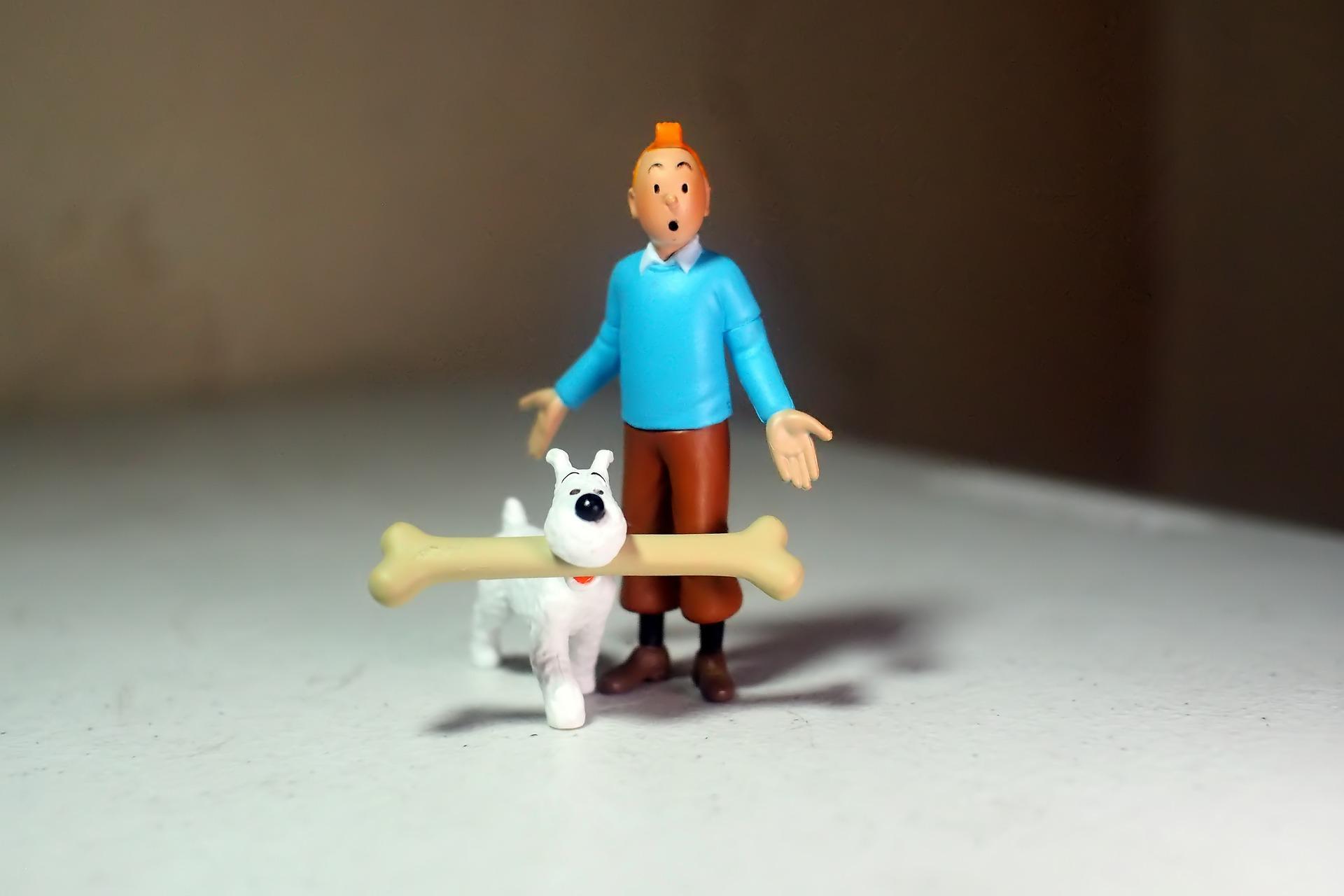 Tintin au pays de Hopper