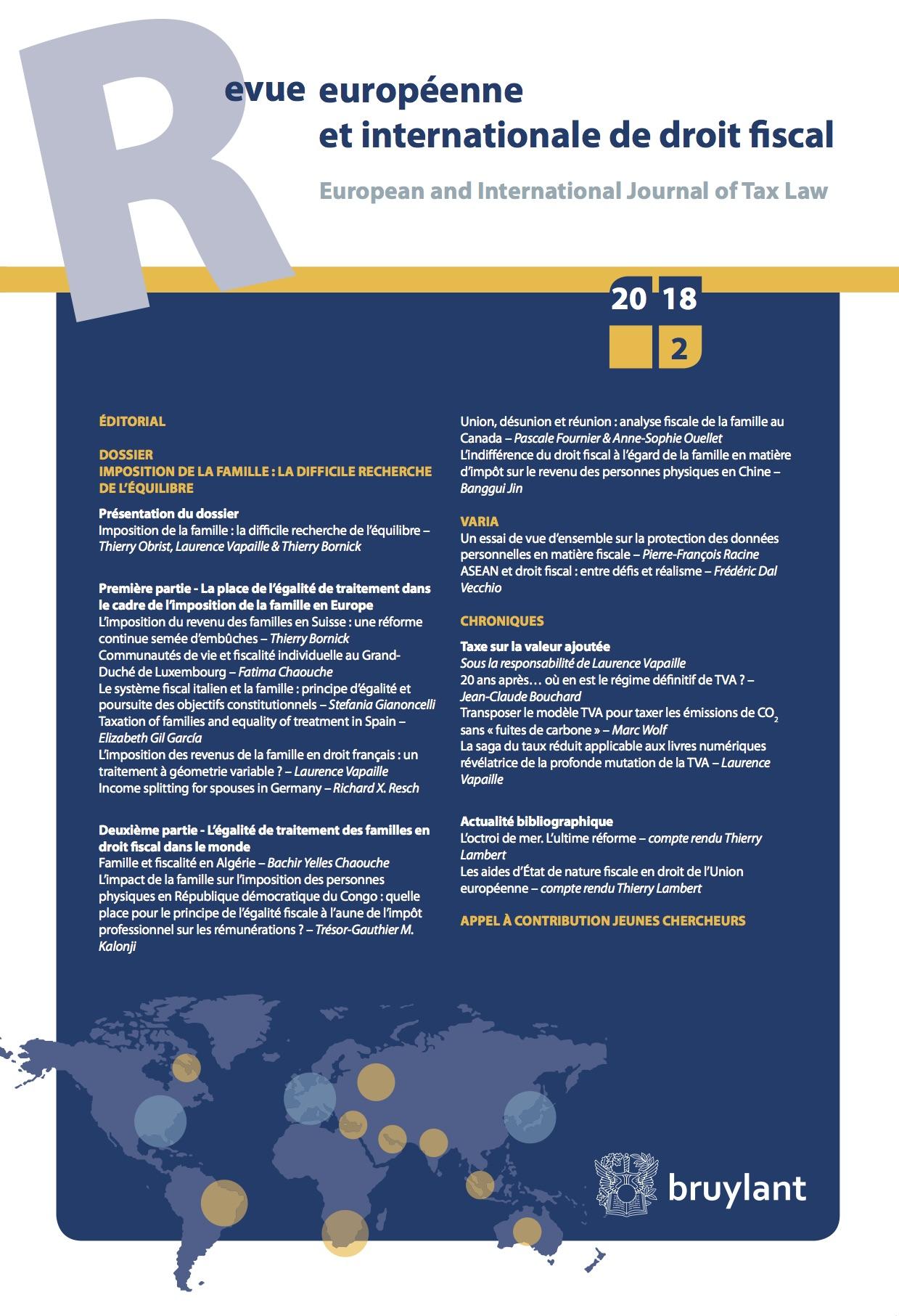 ASEAN et droit fiscal : entre défis et réalisme