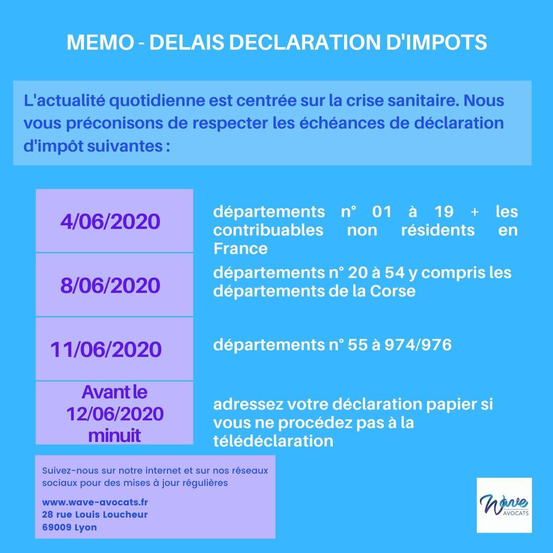Déclaration de revenus, les dates limites approchent