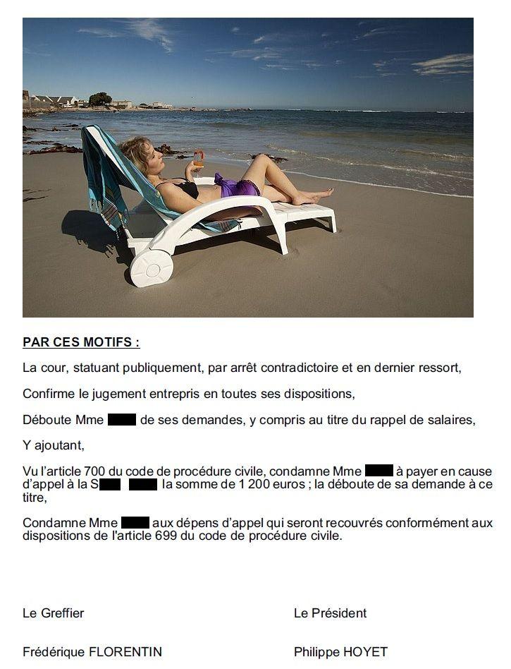 RESEAUX SOCIAUX / SALARIE CONDAMNE A REMBOURSER UNE PARTIE DES FRAIS D'AVOCAT (3000 euros)  DE SON EMPLOYEUR.