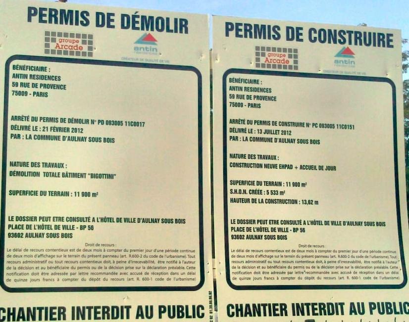 Affichage des autorisations d'urbanisme : suppression de l'obligation de mentionner la date d'affichage en mairie