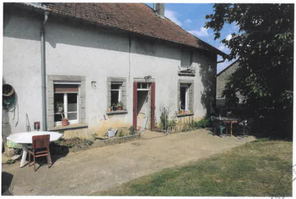 vente aux enchères du 5 septembre 2019 : maison d'habitation à AVRECOURT