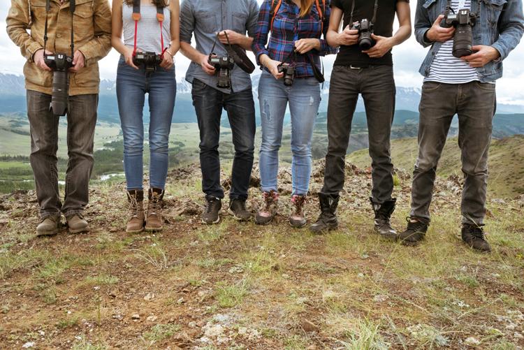 Les différents statuts du photographe