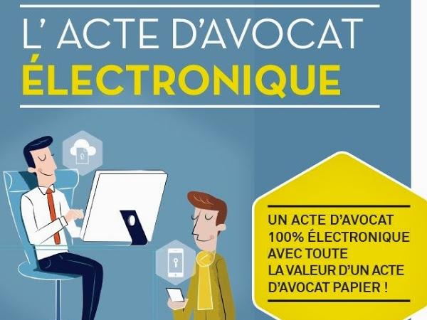 L'Acte d'Avocat Electronique (AAe) ou le progrès technologique au service de l'efficacité juridique!