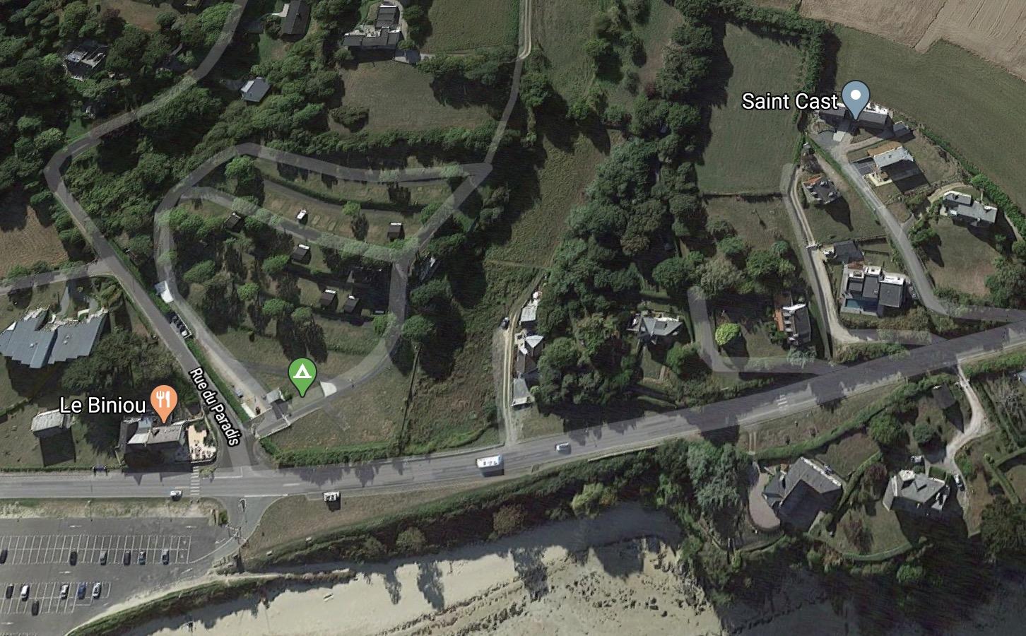 Loi Littoral et bande de cent mètres - Saint-Cast le Guildo (avenue de Pen-Guen)