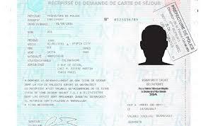 La Delivrance D Un Recepisse De Demande De Titre De Sejour Par Me Jean Marc Essono Nguema
