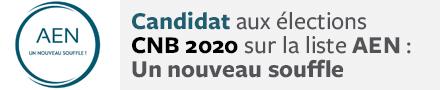 Conseil national des barreaux - élections 2020