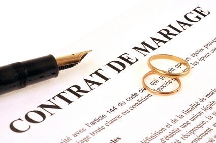 CONTRAT DE MARIAGE : LEQUEL CHOISIR ?