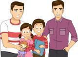 La justice française reconnaît qu'un enfant puisse avoir légalement deux pères ou deux mères.