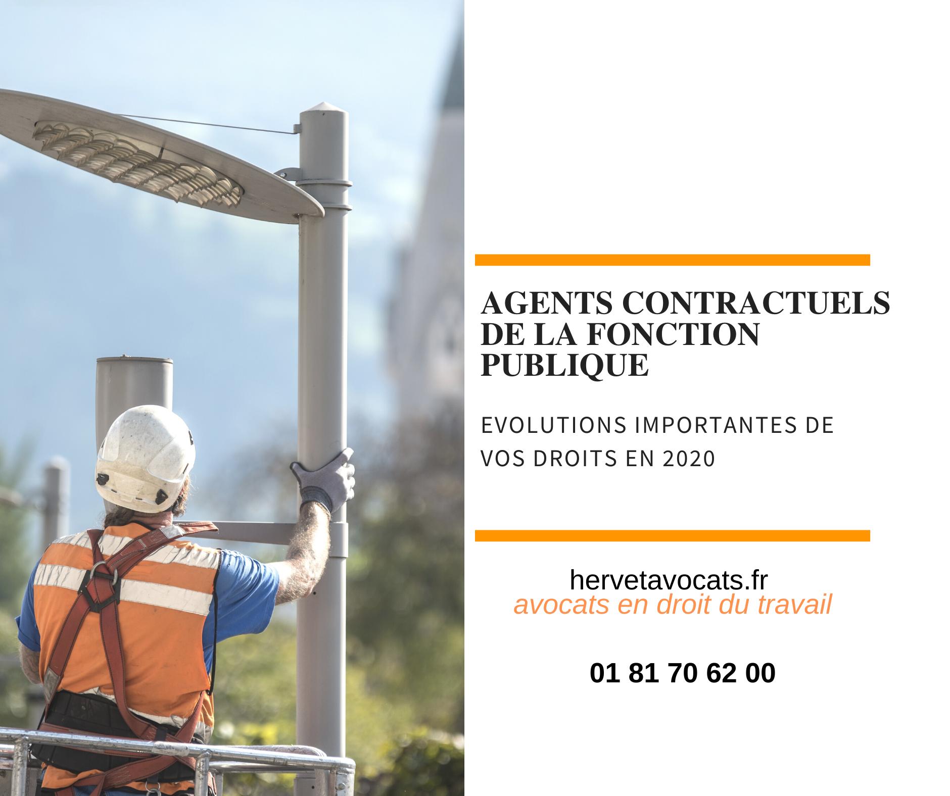 Agents contractuels de la fonction publique : quels sont vos droits en 2020 ?
