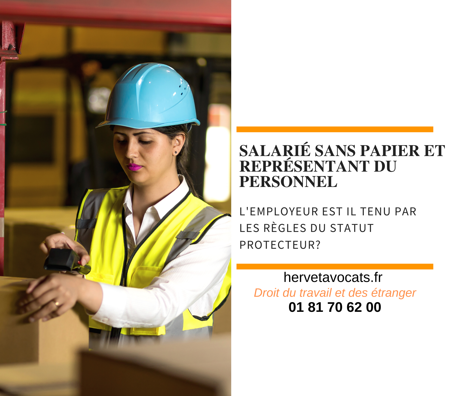 Travailleur sans papier et titulaire d'un mandat de représentant du personnel : quel statut prévaut?