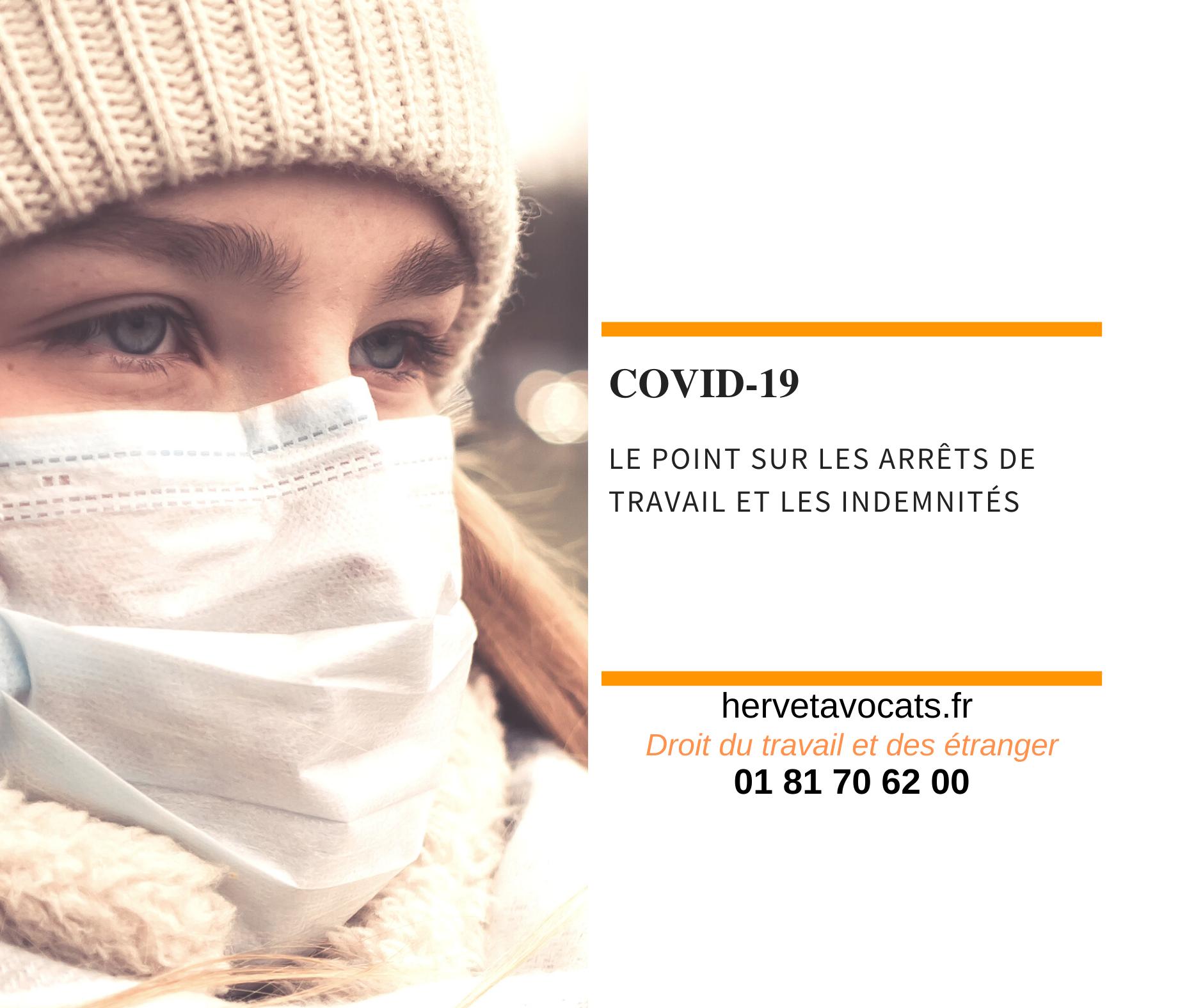 Coronavirus : le point sur les indemnités et arrêts de travail