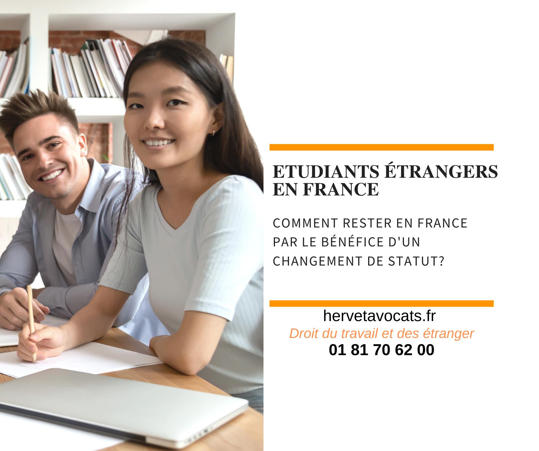 Étudiants étrangers : comment bénéficier d'un changement de statut ?