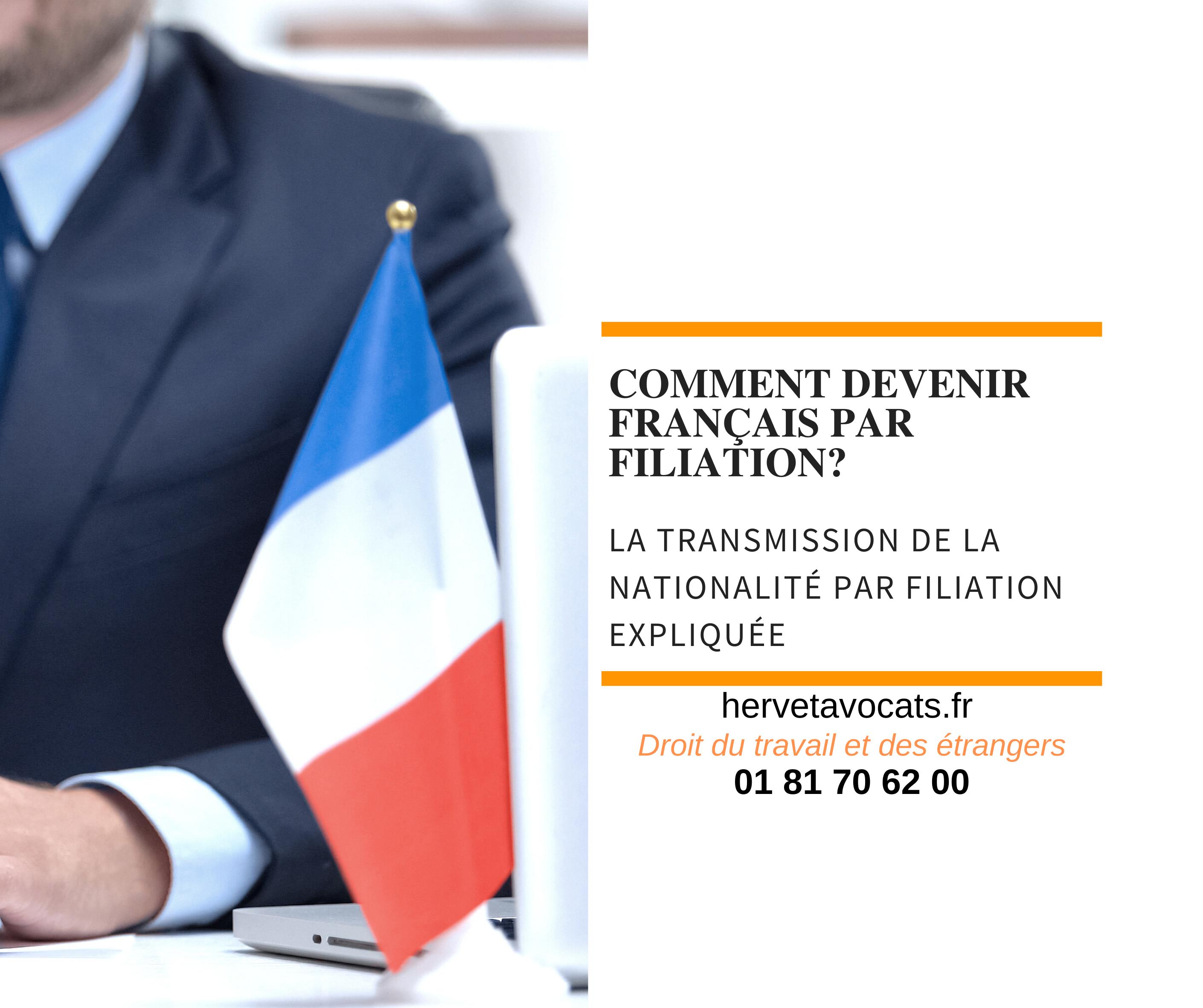 Devient-on automatiquement français si l'un de nos parents est français ?  la transmission de la nationalité par filiation expliquée