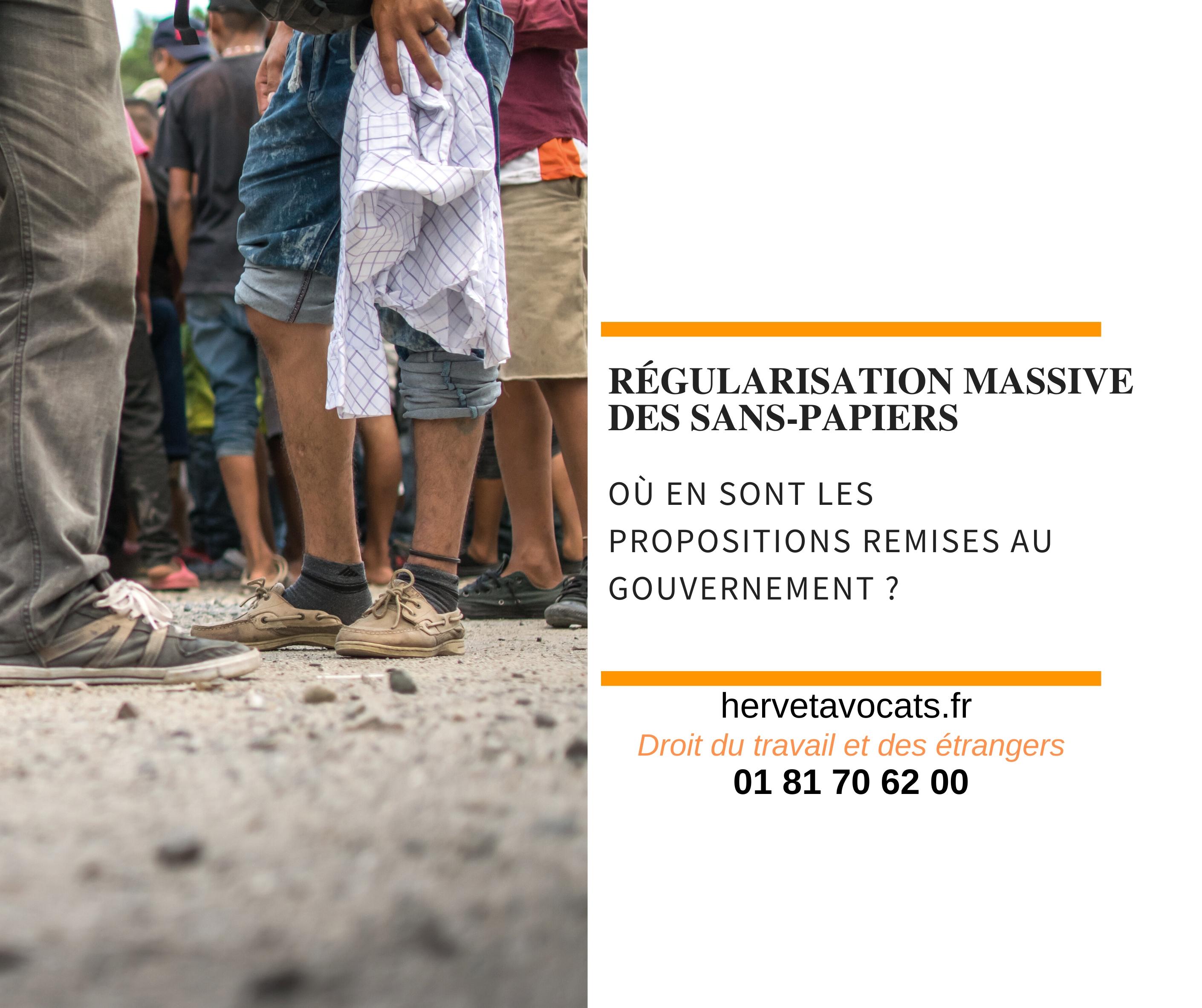Face à la crise du Covid-19, comment protéger les sans-papiers de France ?  Un point sur les propositions de régularisation massive des étrangers en situation irrégulière.