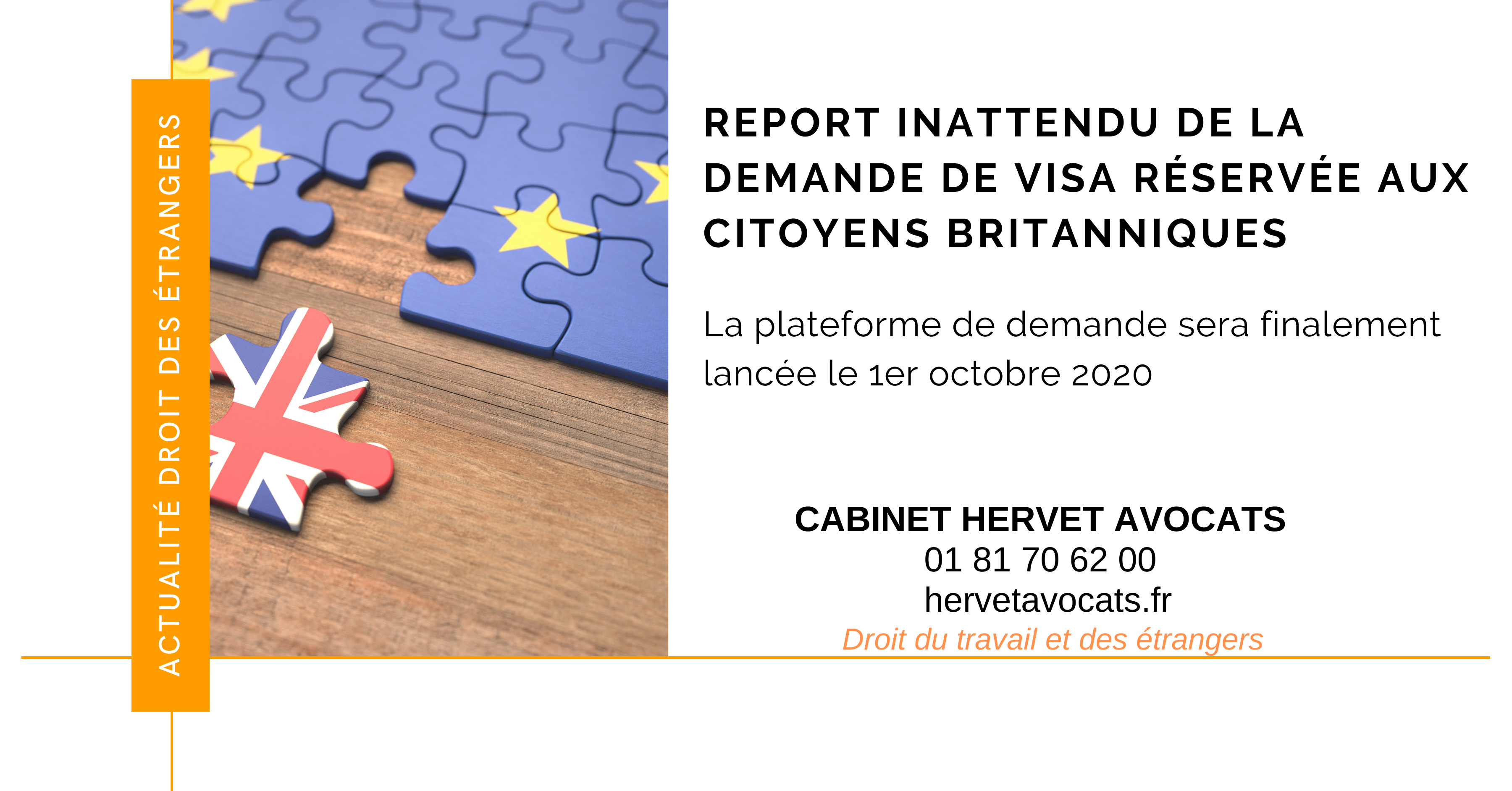 Le report inattendu de l'ouverture du site de dépôt des demandes de titres de séjour en ligne pour les ressortissants britanniques, fait perdurer l'insoutenable incertitude quant à leur droit de séjour en France, après le 31 décem