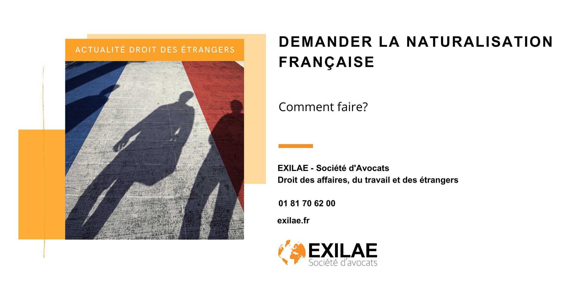 Demander la naturalisation française
