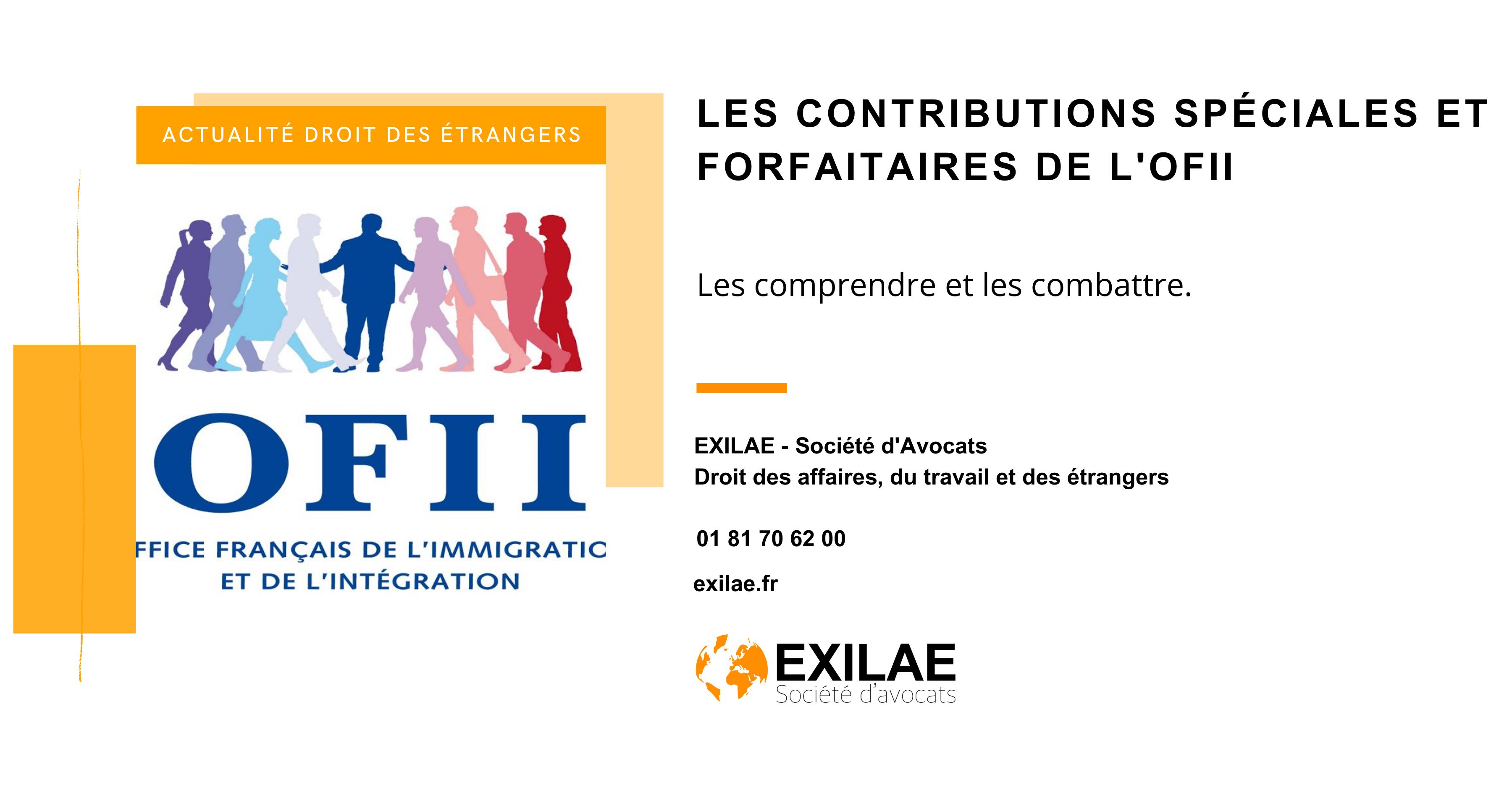 L'article à lire pour comprendre et combattre les contributions spéciales et forfaitaires de l'OFII en cas d'embauche d'un salarié sans papier.