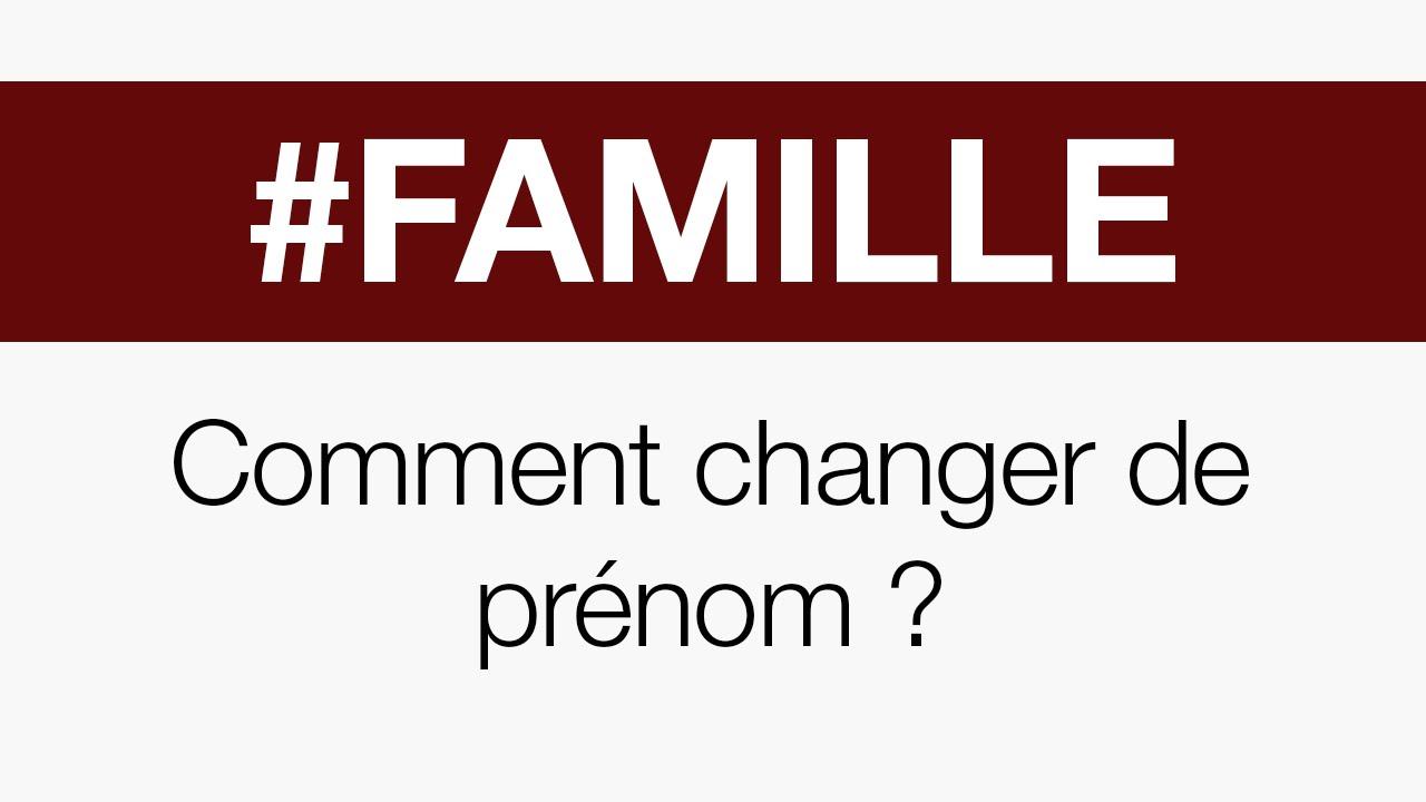 AVOCAT A LILLE - COMMENT CHANGER DE PRENOM ?