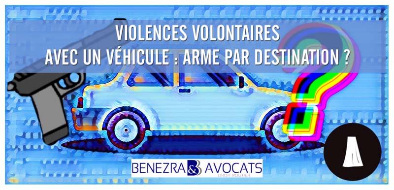 Violences volontaires au volant: quand la voiture est une arme