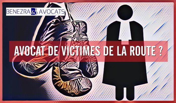 Quel est le rôle de l'avocat de victimes de dommages corporels après un accident de la route ?