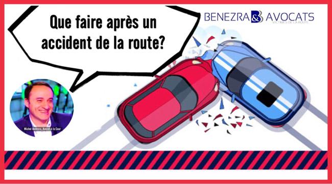 Que faire après un accident ? Quelles sont les premières démarches après un accident de la route ?