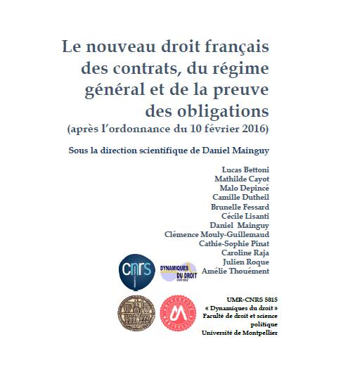 Un livre gratuit sur la réforme du droit des contrats